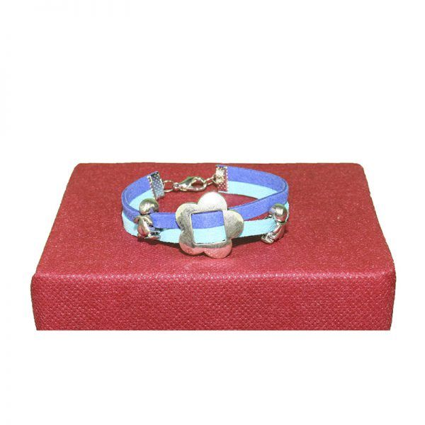 pulsera antelina azul